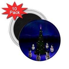 Waiting For The Xmas Christmas 2.25  Magnets (10 pack)