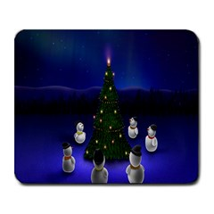 Waiting For The Xmas Christmas Large Mousepads