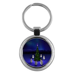 Waiting For The Xmas Christmas Key Chains (round)