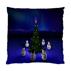 Waiting For The Xmas Christmas Standard Cushion Case (Two Sides)