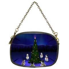 Waiting For The Xmas Christmas Chain Purses (Two Sides)