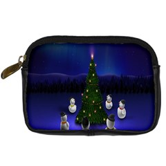 Waiting For The Xmas Christmas Digital Camera Cases