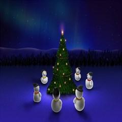 Waiting For The Xmas Christmas Magic Photo Cubes