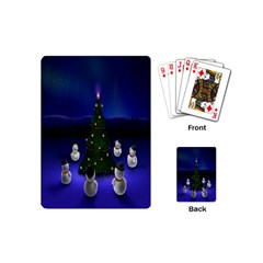 Waiting For The Xmas Christmas Playing Cards (mini)