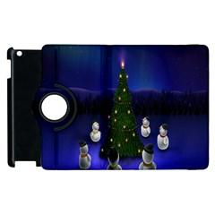 Waiting For The Xmas Christmas Apple iPad 3/4 Flip 360 Case