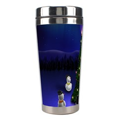 Waiting For The Xmas Christmas Stainless Steel Travel Tumblers