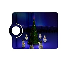 Waiting For The Xmas Christmas Kindle Fire Hd (2013) Flip 360 Case