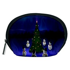 Waiting For The Xmas Christmas Accessory Pouches (medium)