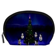 Waiting For The Xmas Christmas Accessory Pouches (large)