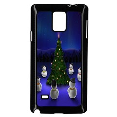 Waiting For The Xmas Christmas Samsung Galaxy Note 4 Case (black)