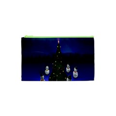 Waiting For The Xmas Christmas Cosmetic Bag (XS)