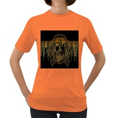 Virus Computer Encryption Trojan Women s Dark T-Shirt