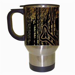 Virus Computer Encryption Trojan Travel Mugs (white)