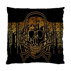 Virus Computer Encryption Trojan Standard Cushion Case (one Side)