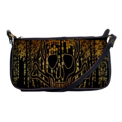 Virus Computer Encryption Trojan Shoulder Clutch Bags