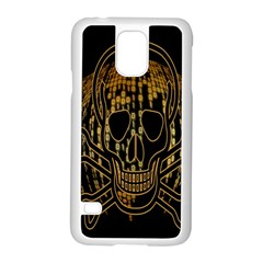 Virus Computer Encryption Trojan Samsung Galaxy S5 Case (White)