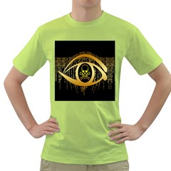Virus Computer Encryption Trojan Green T Shirt