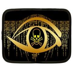 Virus Computer Encryption Trojan Netbook Case (Large)
