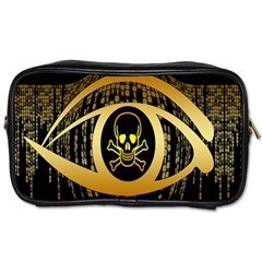 Virus Computer Encryption Trojan Toiletries Bags