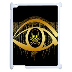 Virus Computer Encryption Trojan Apple iPad 2 Case (White)