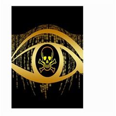 Virus Computer Encryption Trojan Large Garden Flag (two Sides)
