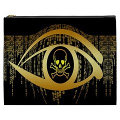 Virus Computer Encryption Trojan Cosmetic Bag (XXXL)
