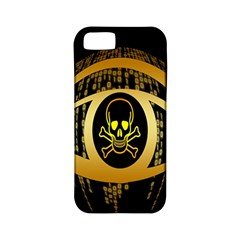 Virus Computer Encryption Trojan Apple Iphone 5 Classic Hardshell Case (pc+silicone)