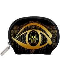 Virus Computer Encryption Trojan Accessory Pouches (small)