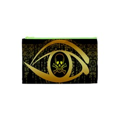 Virus Computer Encryption Trojan Cosmetic Bag (XS)