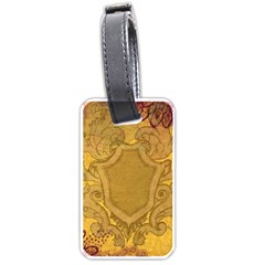 Vintage Scrapbook Old Ancient Luggage Tags (two Sides)