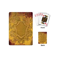 Vintage Scrapbook Old Ancient Playing Cards (Mini)