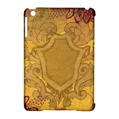 Vintage Scrapbook Old Ancient Apple Ipad Mini Hardshell Case (compatible With Smart Cover)