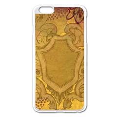 Vintage Scrapbook Old Ancient Apple Iphone 6 Plus/6s Plus Enamel White Case