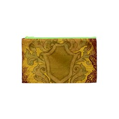 Vintage Scrapbook Old Ancient Cosmetic Bag (XS)