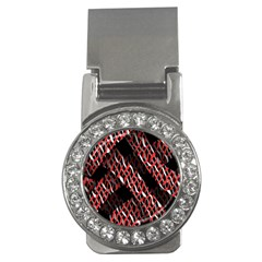 Weave And Knit Pattern Seamless Money Clips (CZ)