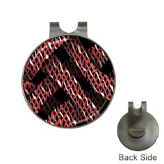 Weave And Knit Pattern Seamless Hat Clips with Golf Markers