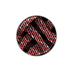 Weave And Knit Pattern Seamless Hat Clip Ball Marker (4 Pack)