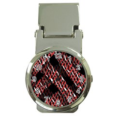 Weave And Knit Pattern Seamless Money Clip Watches