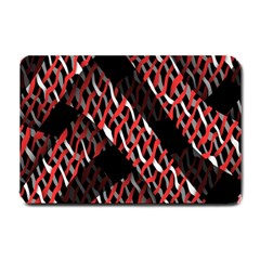Weave And Knit Pattern Seamless Small Doormat