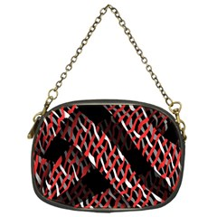 Weave And Knit Pattern Seamless Chain Purses (One Side)