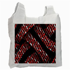 Weave And Knit Pattern Seamless Recycle Bag (One Side)