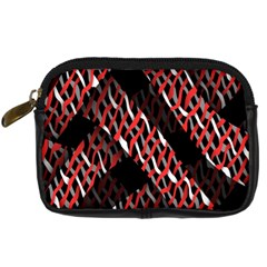 Weave And Knit Pattern Seamless Digital Camera Cases