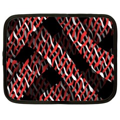 Weave And Knit Pattern Seamless Netbook Case (xxl)