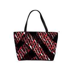 Weave And Knit Pattern Seamless Shoulder Handbags
