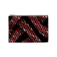Weave And Knit Pattern Seamless Cosmetic Bag (Medium)