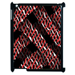 Weave And Knit Pattern Seamless Apple iPad 2 Case (Black)