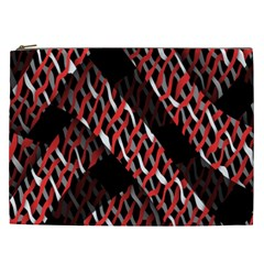 Weave And Knit Pattern Seamless Cosmetic Bag (xxl)