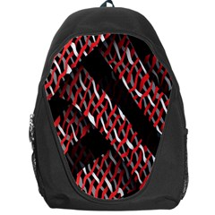 Weave And Knit Pattern Seamless Backpack Bag