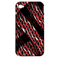 Weave And Knit Pattern Seamless Apple iPhone 4/4S Hardshell Case (PC+Silicone)