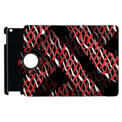 Weave And Knit Pattern Seamless Apple iPad 2 Flip 360 Case